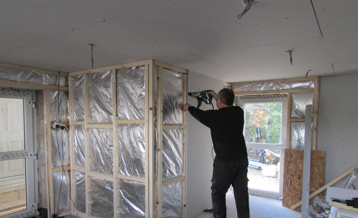Garage Insulation Installation