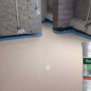 Screed Floor With Blanket