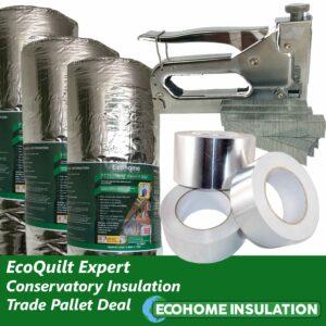 EcoQuilt Expert Conservatory Insulation Trade Pallet