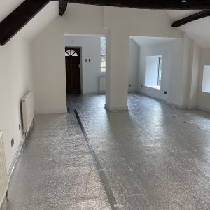 EcoTec FloorFoam on Concrete Floors